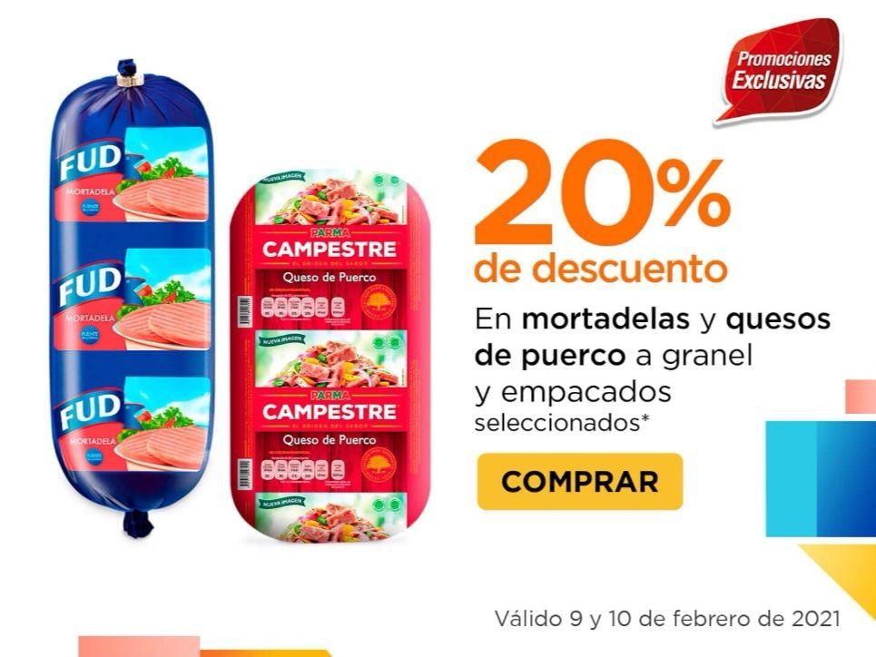 Chedraui: 20% de descuento en mortadelas y quesos de puerco a granel y empacados seleccionados