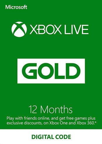 Eneba: Xbox Live Gold 12 meses (Japon)