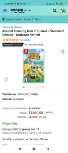 Amazon: Animal Crossing