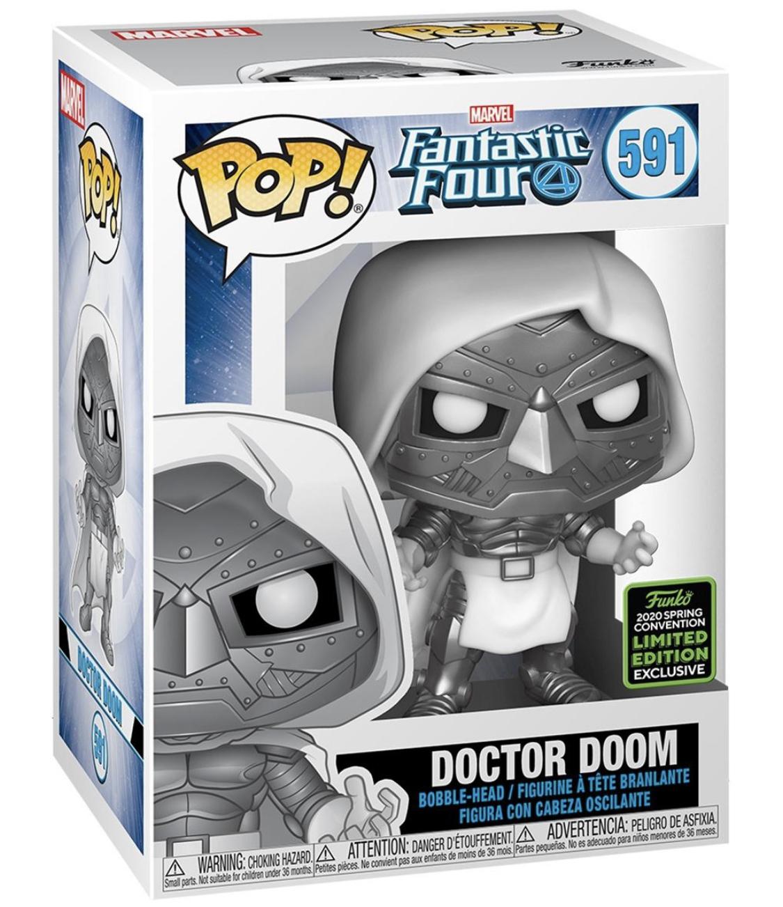 Liverpool: Doctor Doom Funko pop Exclusivo ECCC 2020