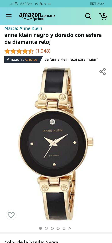 Amazon: Reloj Anne klein
