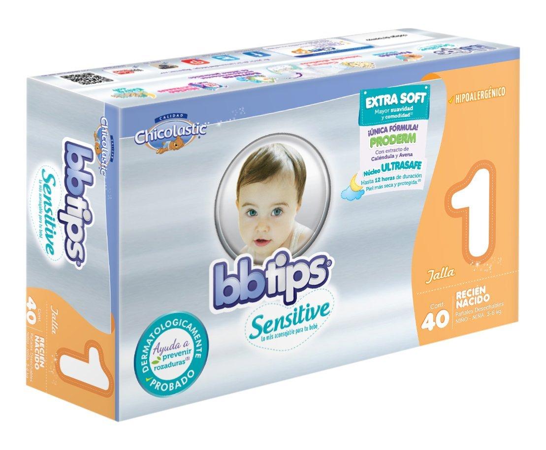 Amazon: BBtips Unisex, Talla Recién Nacido, 160 Pañales