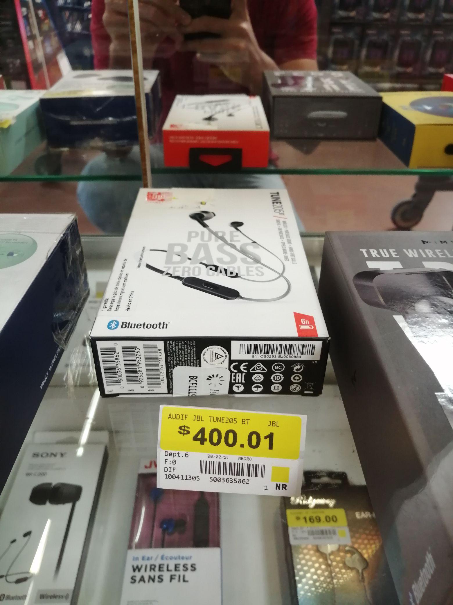 Walmart Zapopan: JBL Audífonos Tune 205bt