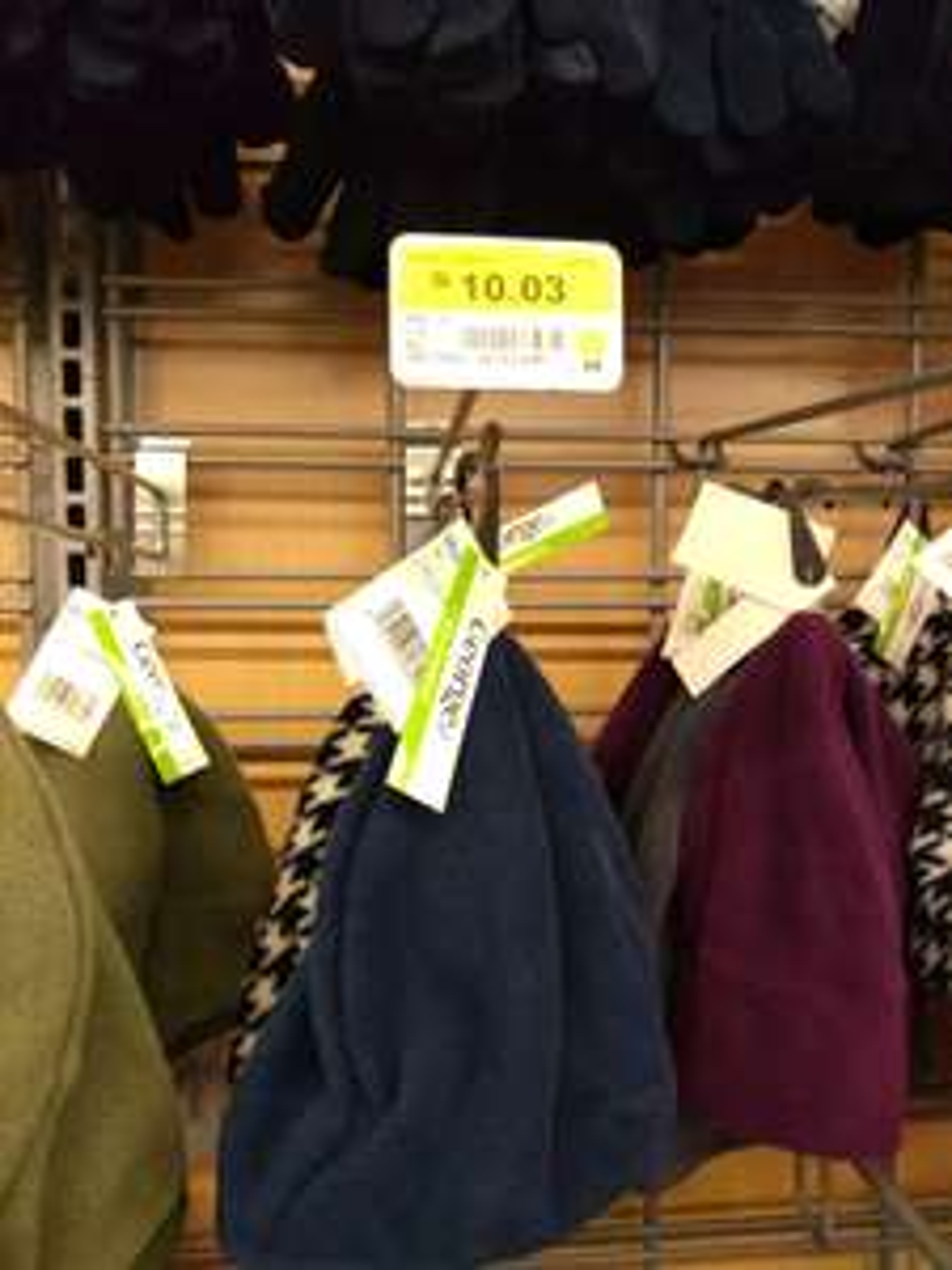 Walmart: bufandas, gorros y guantes