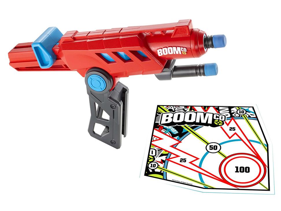 Liverpool: pistola de dardos Mattel Railstinger Boomco