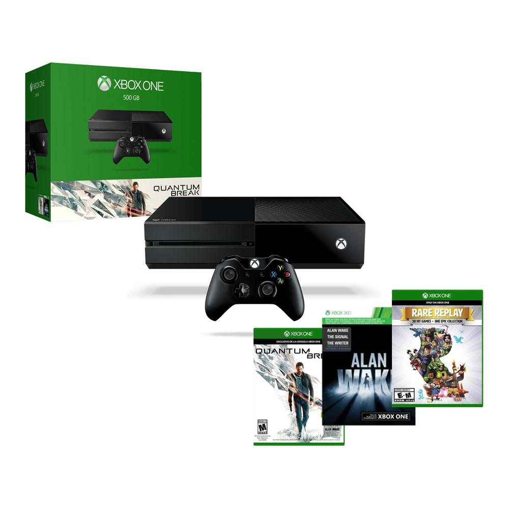 Walmart: Xbox One 500GB con Quantum Break y 2 juegos más $4,999 y 12 MSI