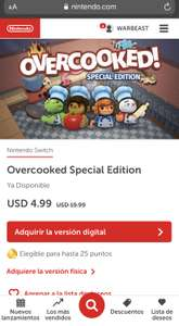 Nintendo: Overcooked Special Edition