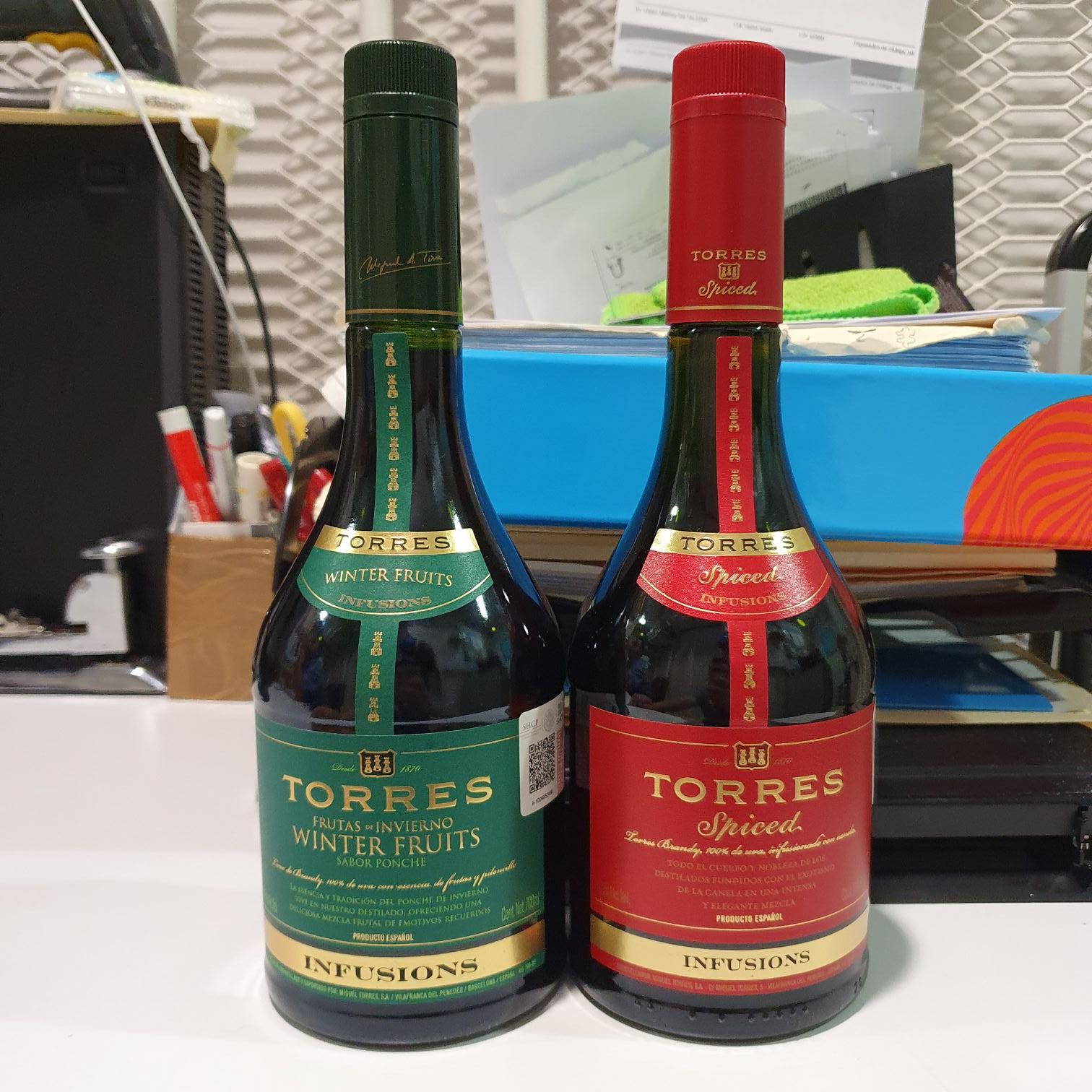 Superama: Torres Spiced y Winter Fruits