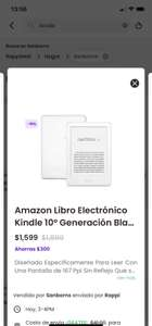 Kindle por rappi