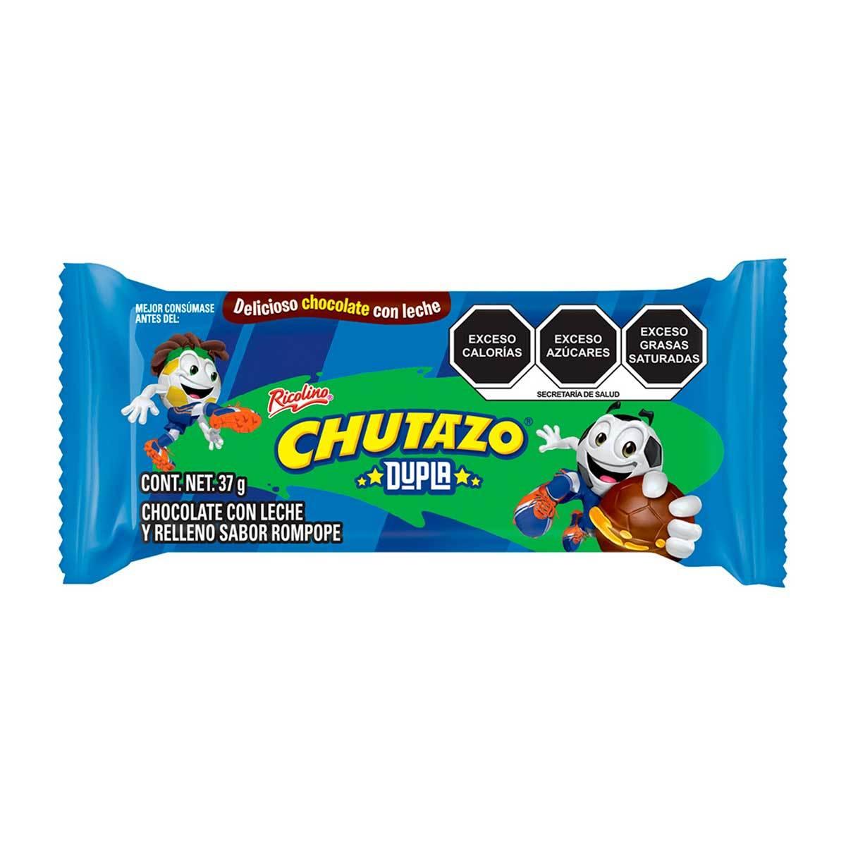 Chedraui Online Chocolate Ricolino Chutazo 2 Pack 37g
