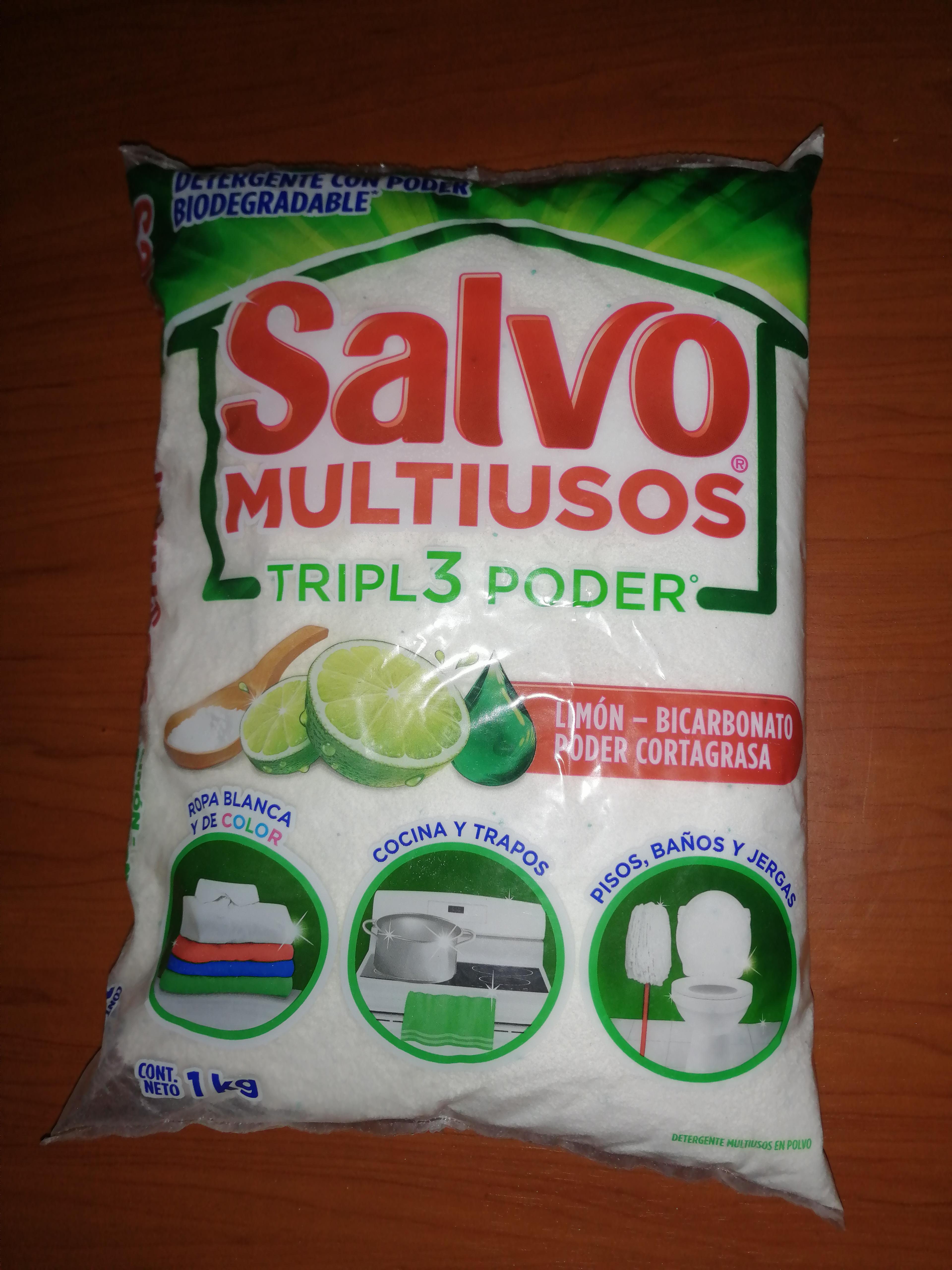 Walmart Reforma Puebla..., Jabón en polvo Salvo