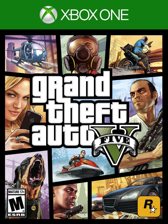 Amazon: Grand Theft Auto V para Xbox One a $610, para Xbox 360 a $367 y para PS3 a $348