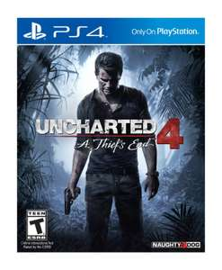 Amazon: Uncharted 4: A Thief's End para PS4 a $734
