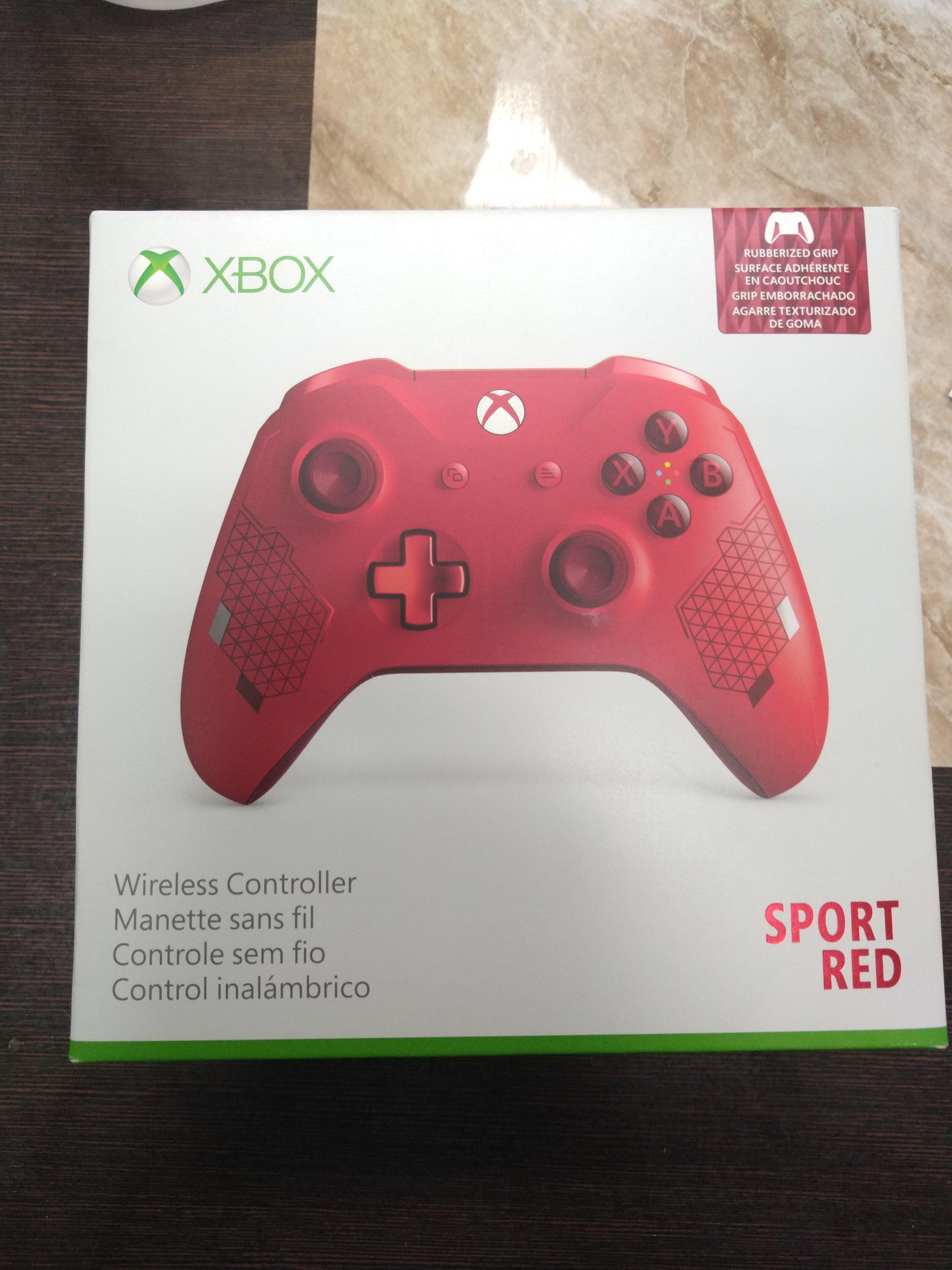 Control Xbox One Sport Red Bodega Aurrera Culiacán