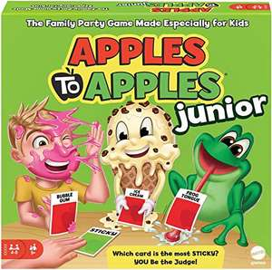 Amazon Prime Mattel Games Apples to Apples Junior - The Game of Crazy Combinations!