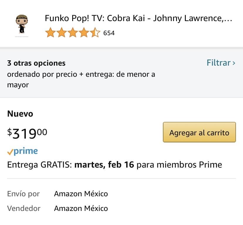 Amazon: Johnny Lawrence Funko POP!
