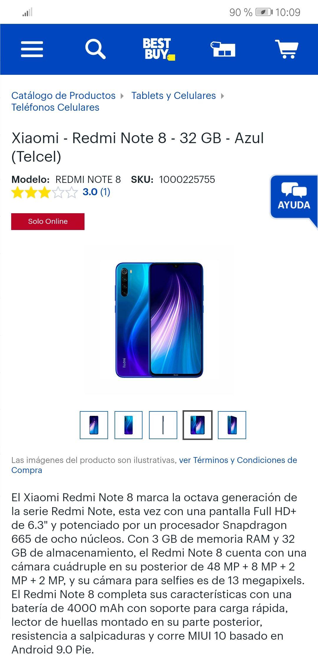 Best Buy: Xiaomi Redmi Note 8