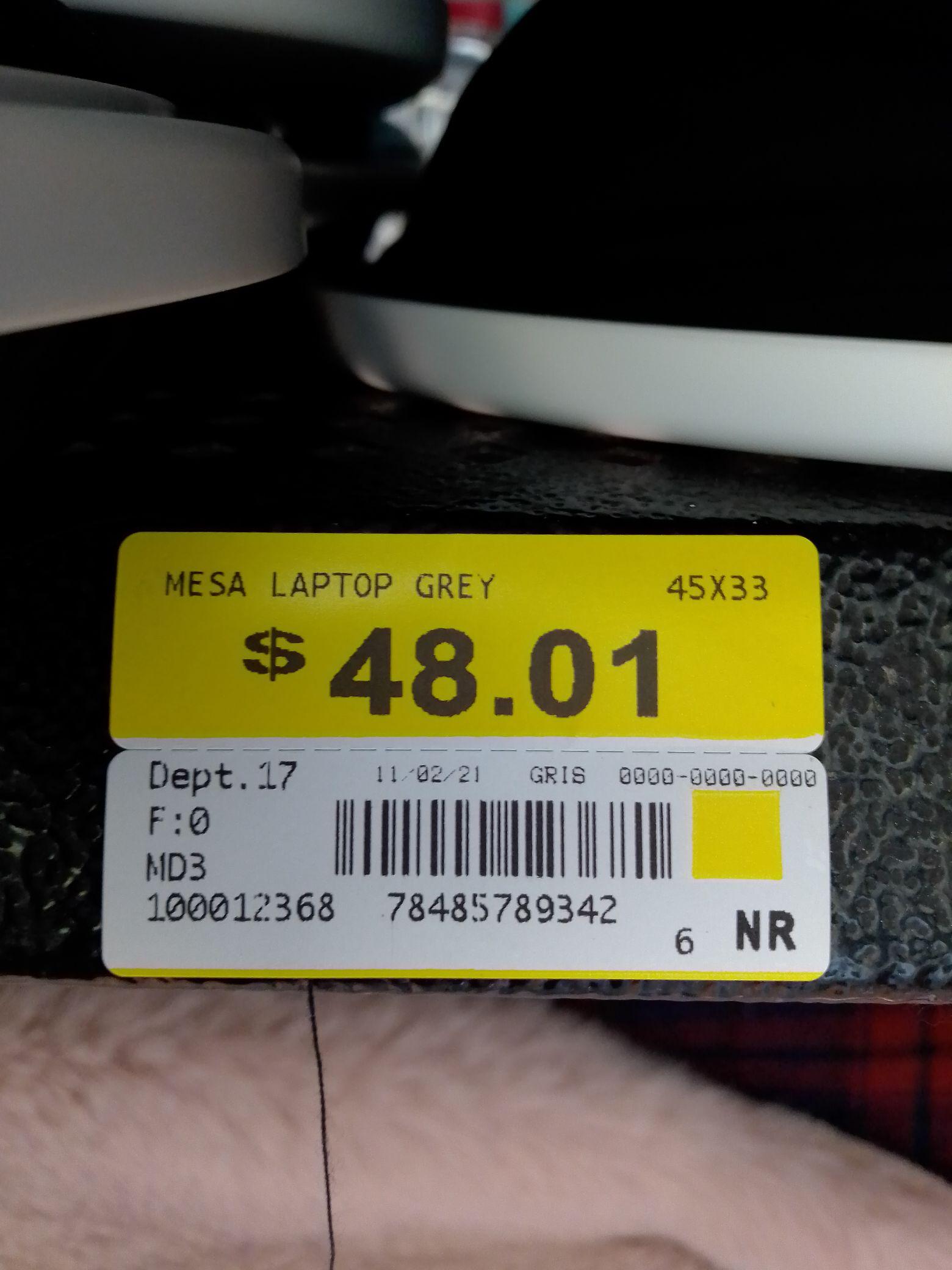 Walmart: Mesa-base laptop