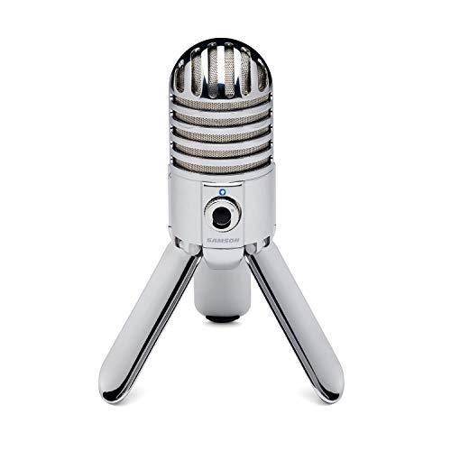 Amazon: Samson Meteor Micrófono de condensador para Computadora