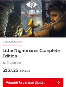 Nintendo switch : Little Nightmares Complete edition