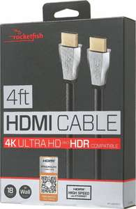 Best Buy: Rocketfish - Cable HDMI 4K 1.2 mts - Negro