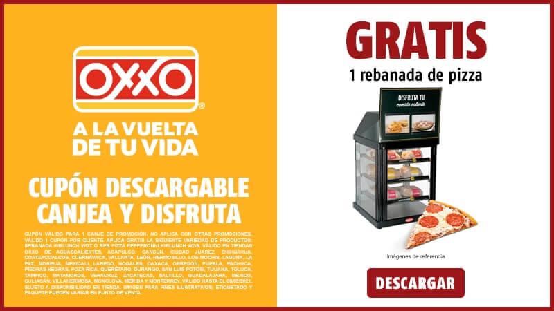 Oxxo: Una rebanada de Pizza GRATIS