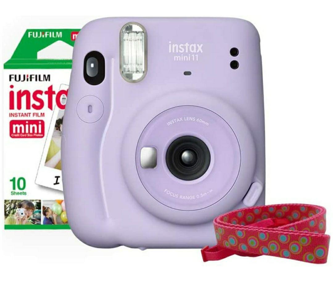 Amazon: Fujifilm Instax Mini 11 + Correa + 10 Fotos