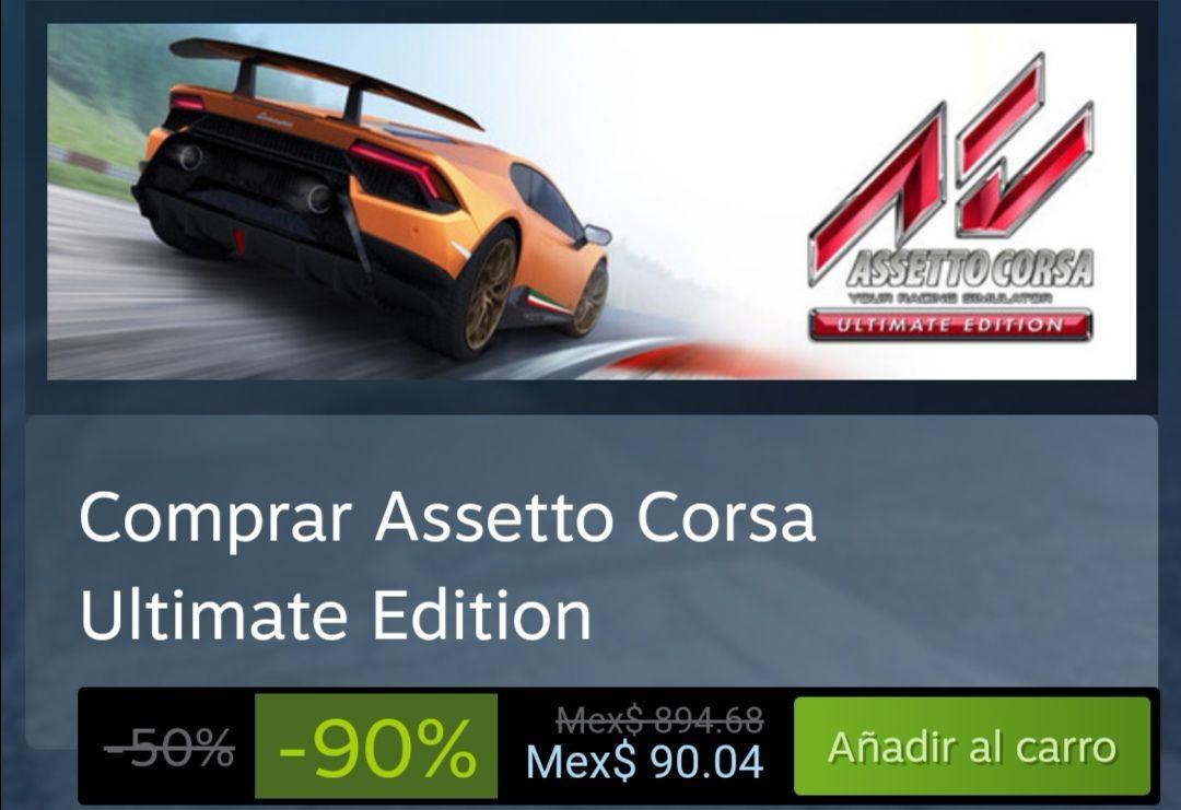 Steam: ASSETO CORSA ULTIMATE EDITION ( 894 a 90)