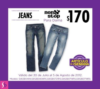 Artículo de la semana en Suburbia: jeans para dama a $170