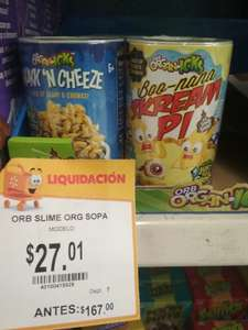Walmart mexicali: Cereal Slime y tequila campo azul