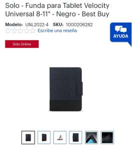 Best Buy: Funda para tablet 8-11""