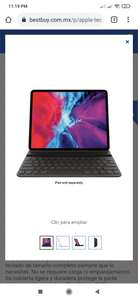 Best Buy: Teclado iPad pro 12.9""