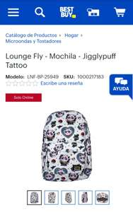 Best Buy Lounge Fly - Mochila - Jigglypuff Tattoo