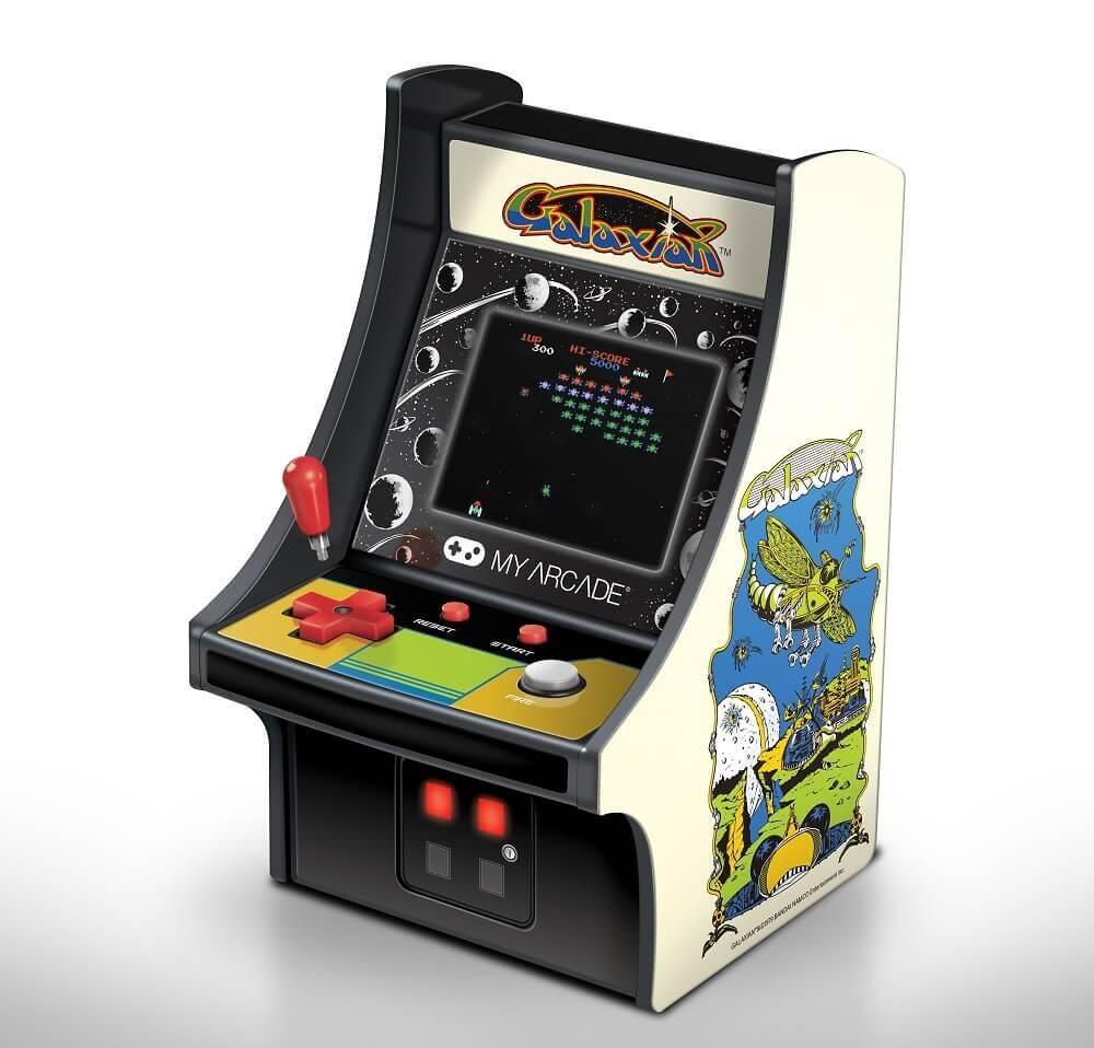 "Best Buy - My Arcade - Consola 6"" Retro Galaxian Micro Player - Blanco"