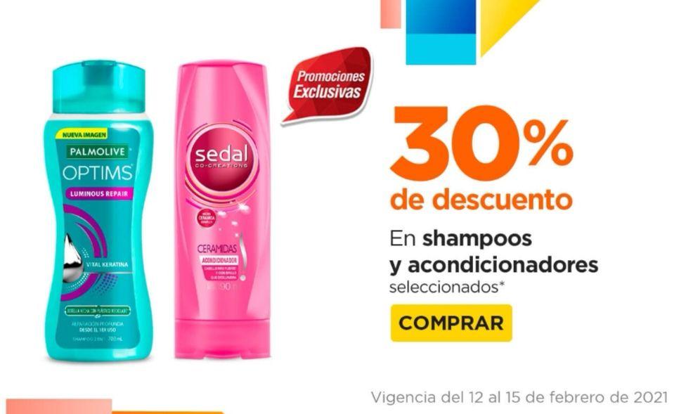 Chedraui: 30% de descuento en shampoos y acondicionadores Optims, Caprice, Sedal y Stefano