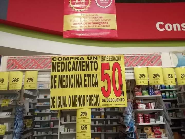 Soriana Orizaba segundo medicamento preinscrito al 50% de descuento