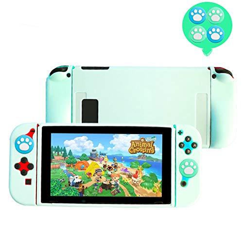 Amazon: Protector para Nintendo Switch Color Menta (Para joy-cons, tablet y joysticks)