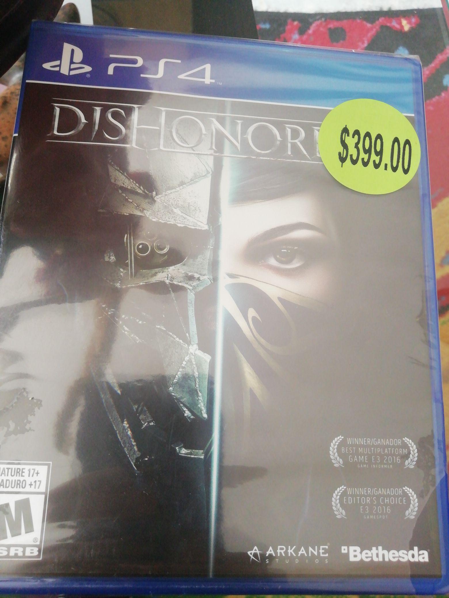 Bodega Aurrerá: DISHONOR PS4