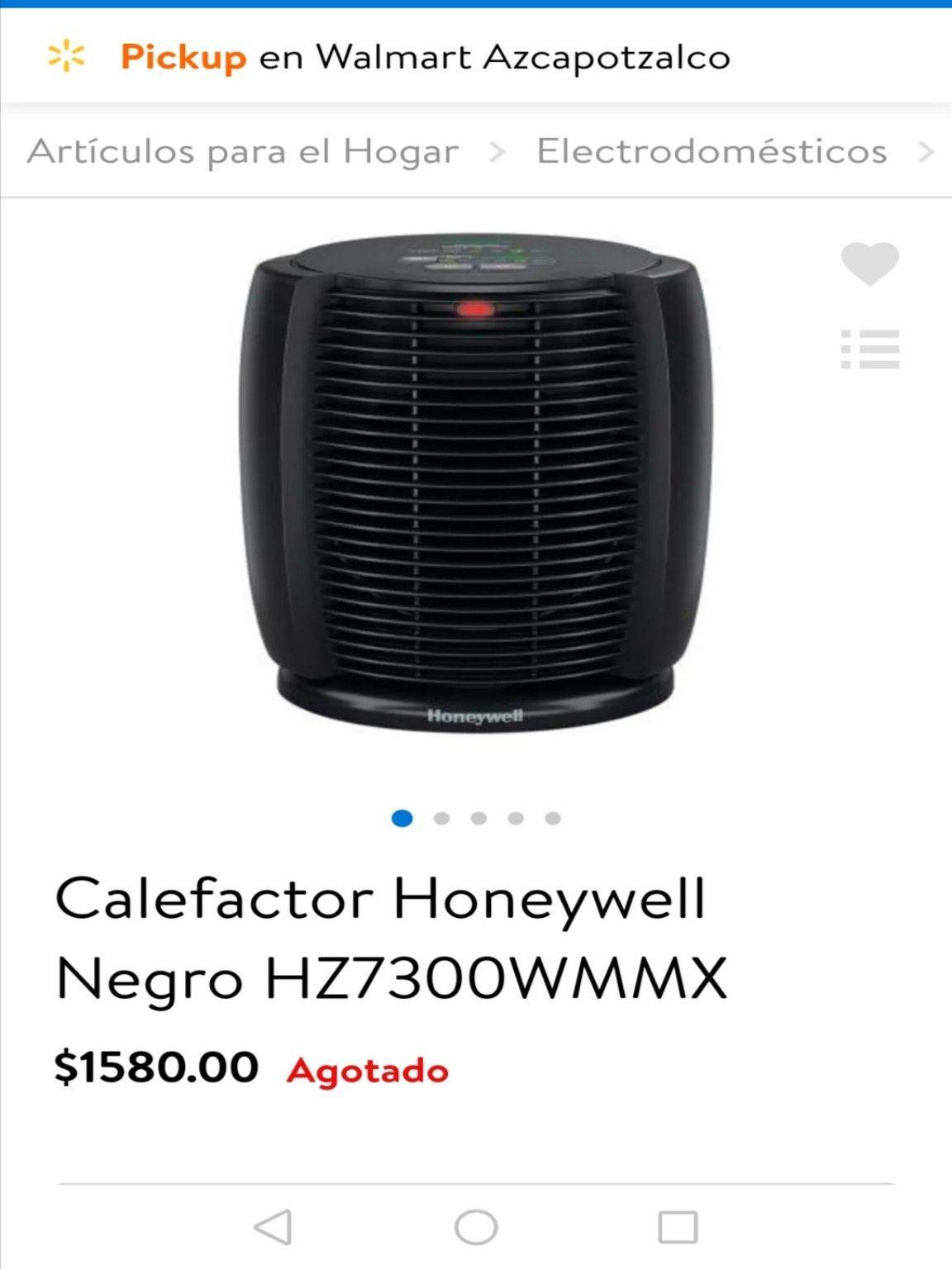 Walmart : Calentador Smart de $1,580 a solo $236.01