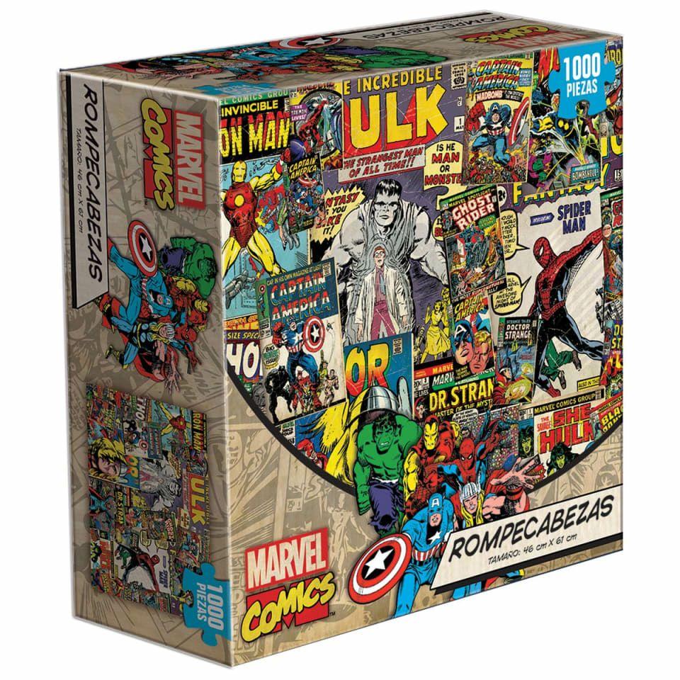 Walmart: Rompecabezas de 1000 de Marvel Comics