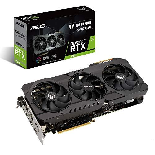 Amazon: Asus Tarjeta Grafica Nvidia GeForce TUF-RTX3080-10G-GAMING, OC Edition