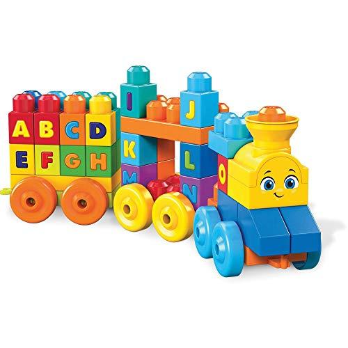 Amazon : Mega Bloks ABC Tren De Aprendizaje (50 Piezas)