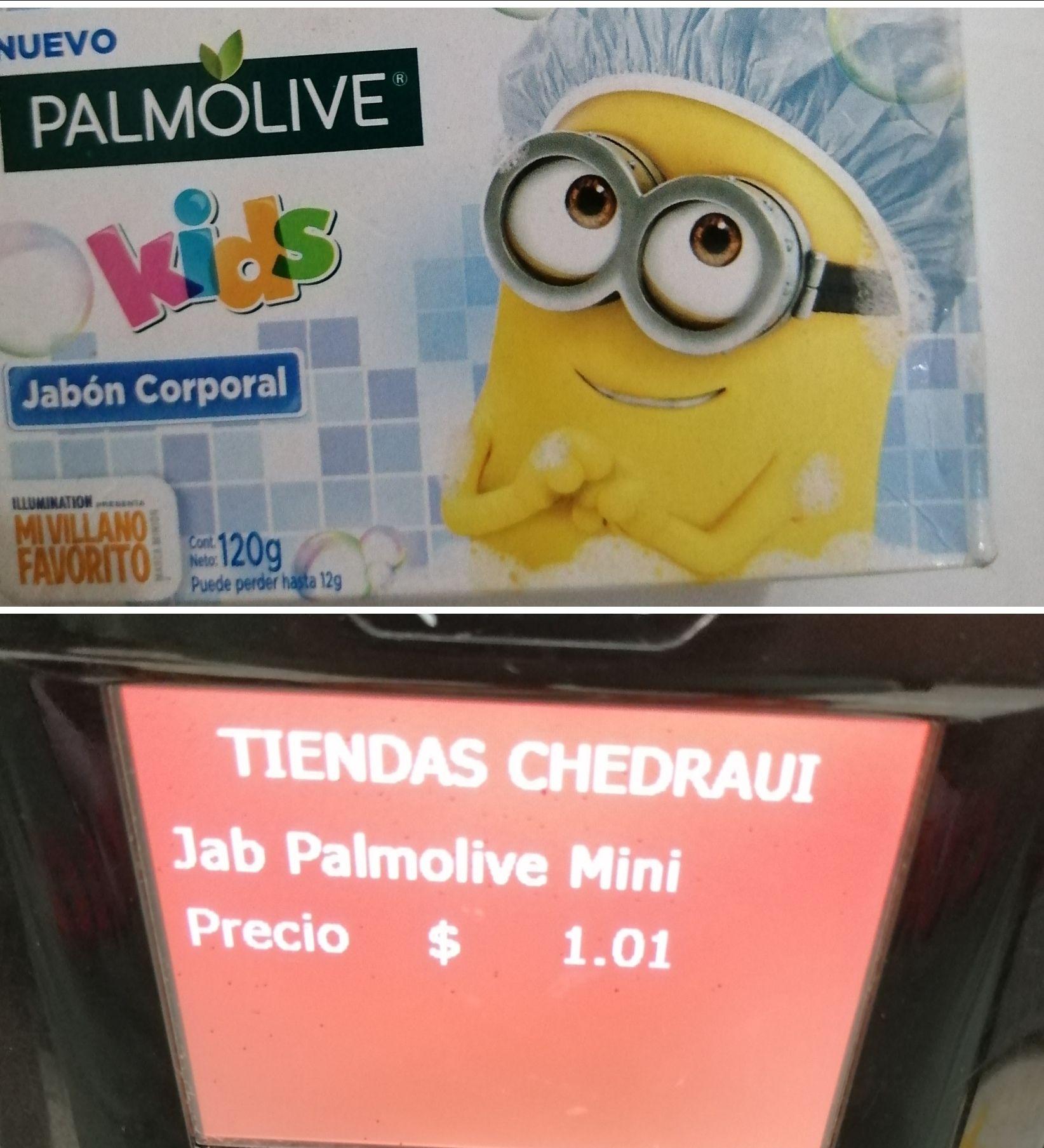 Chedraui: Jabón palmolive