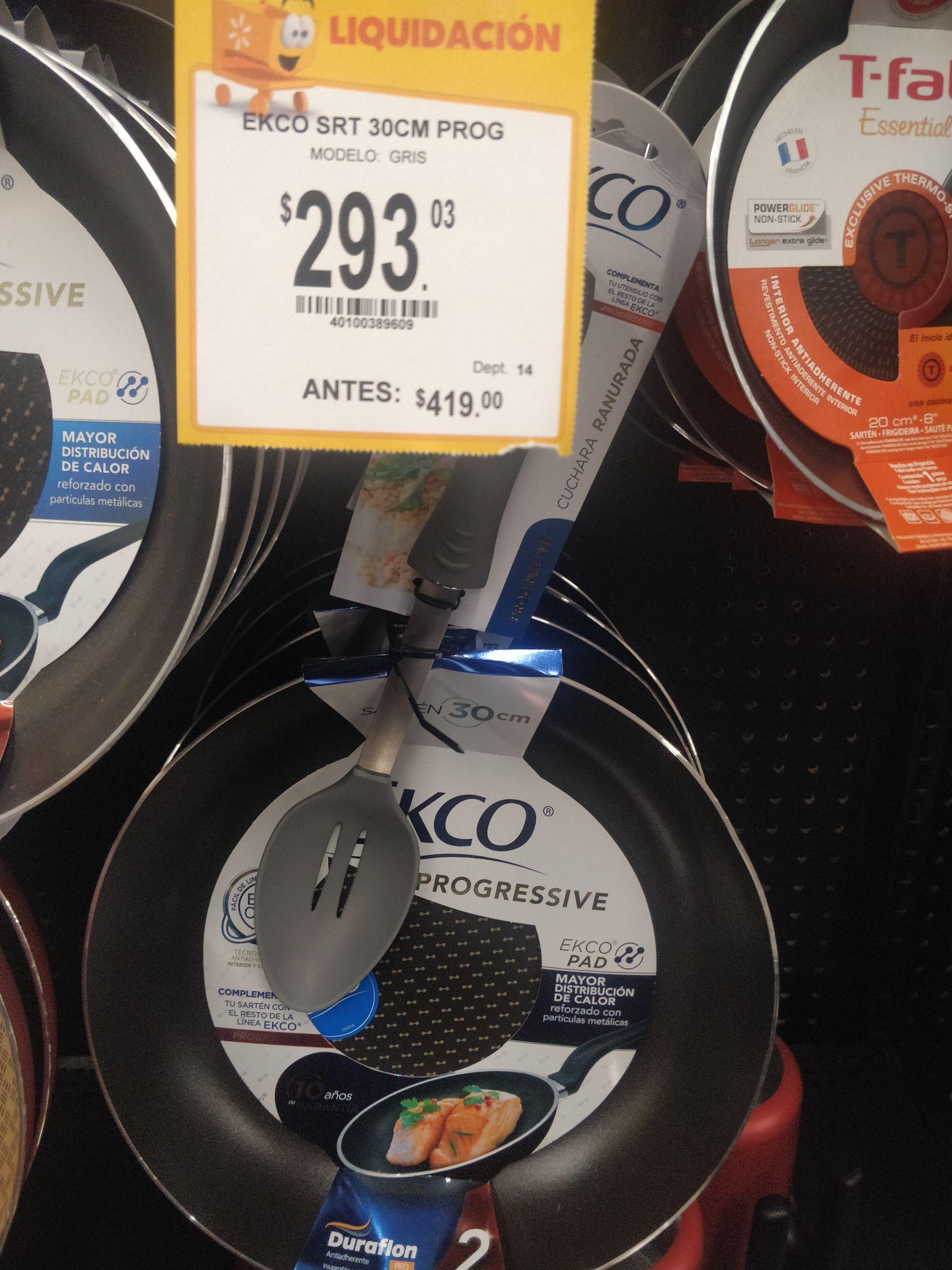 Walmart: Sartén Ecko 30cm