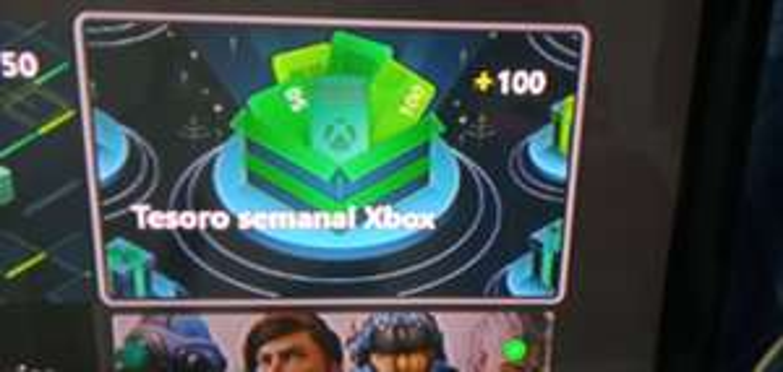 Xbox : 100 puntos gratis en Microsoft Rewards