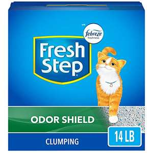 Amazon: Fresh Step Scoopable Cat Litter, Clumping, 14 lbs