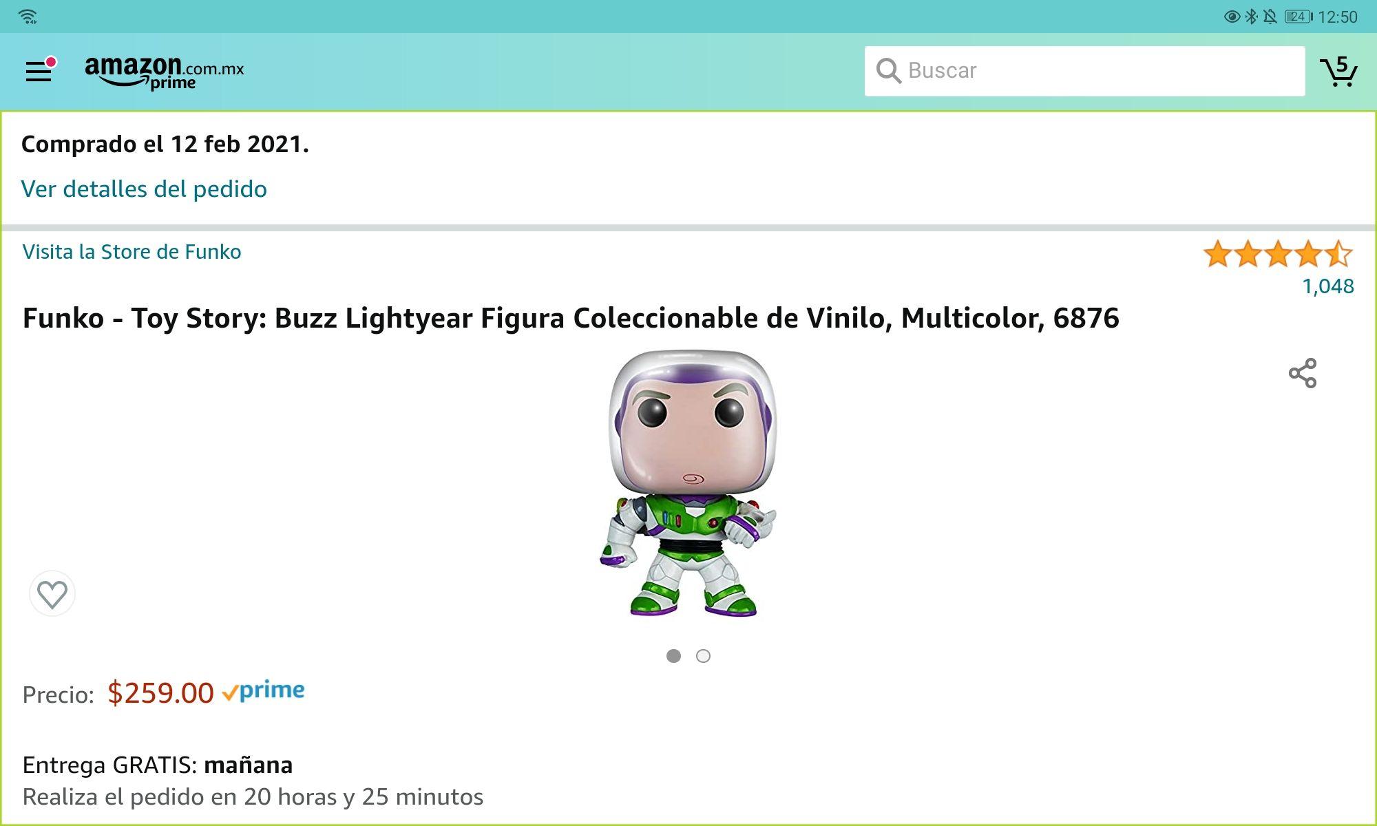 Amazon - Funko Pop Buzz Lightyear