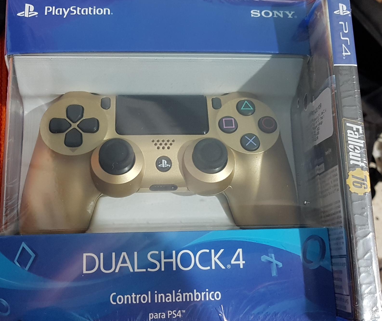 Walmart: control ps4 dorado con fallout 76