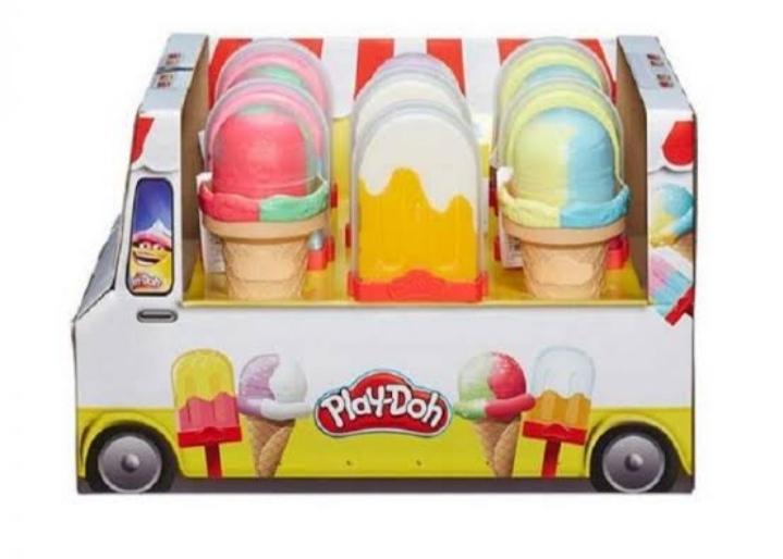 Bodega Aurrera: paleta o helado Play Doh en segunda liquidacion