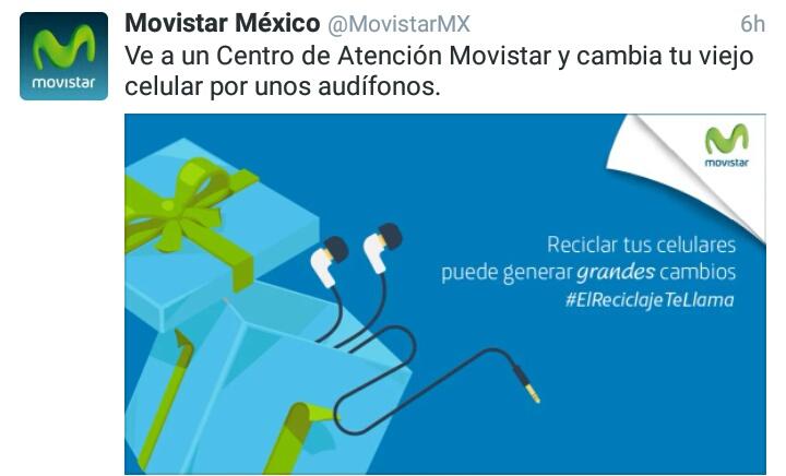 Movistar: Cambia tu celular viejo por unos audifonos en CAC's